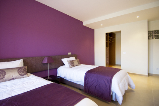 Twin room at Oldeander