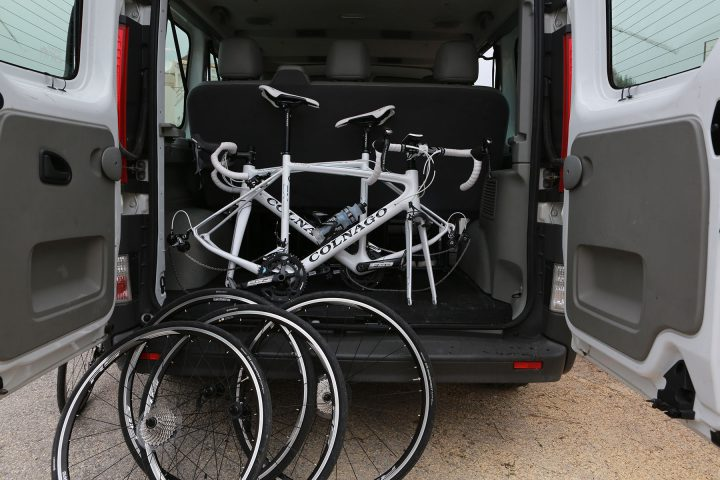 Colnago Bicycles to hire in the large in transport