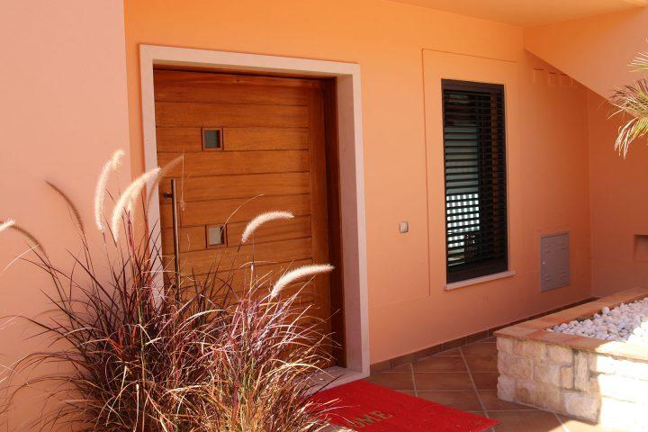 Front Door of the Villa